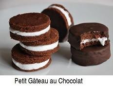 Recette des Petits gâteaux au chocolat façon Oreo