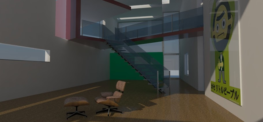 My own 3d renderings with Sketchup and Kerkythea