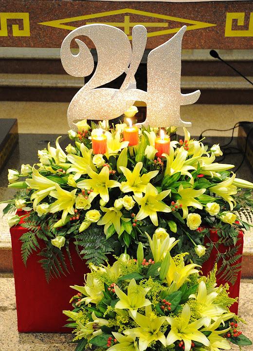 Ảnh-Kỷ niệm 24 năm linh mục của cha chánh xứ