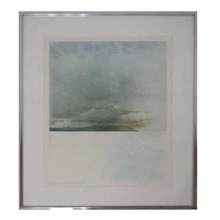 Donald Wilkinson Signed Aquatint Etching & Embossing