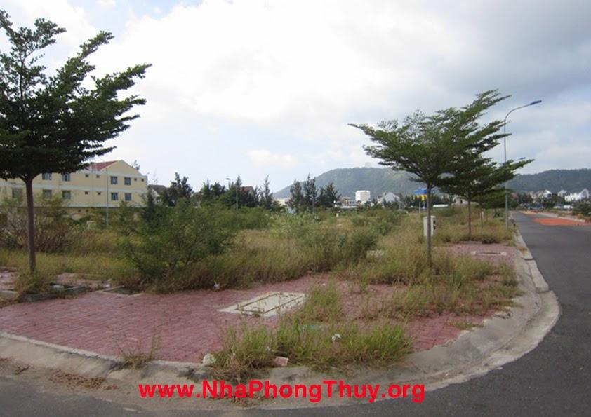 Hướng nam dự án là hướng bãi trước, trung tâm thành phố