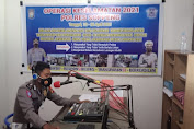 Sat Lantas Polres Soppeng Sosialisasi Ops Keselamatan 2021 Melalui Radio Adyafiri FM