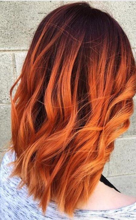 Burnt Orange Hair