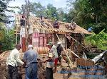 Giat Baksos Kapolres Ciamis Ke Salahsatu Warga Desa Mekarmukti