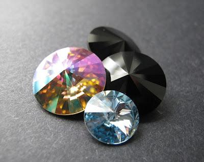 Swarovski Elements Crystal Rivolis