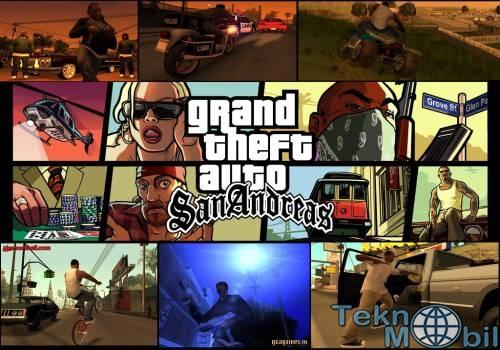 Grand Theft Auto: San Andreas v1.0.8 Full APK