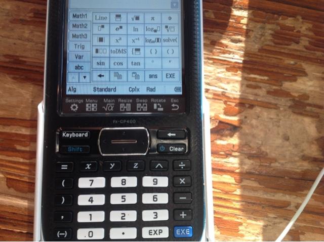 Casio classpad fx cp400 colour graphing calculator australia