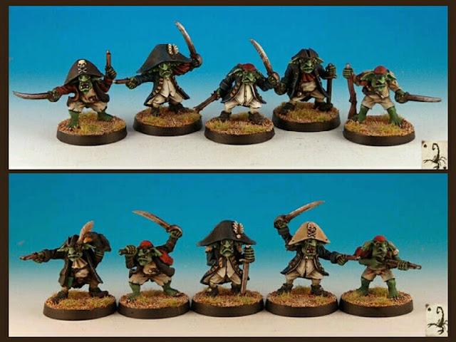 Goblins corsarios Black Scorpions