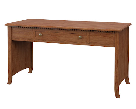 Lisbon Writing Desk in Vermont Maple