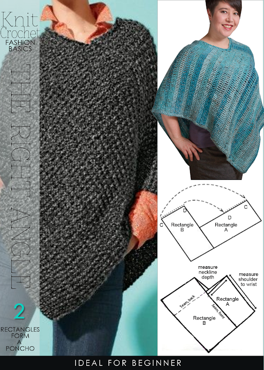Knitting Pattern For Mens Poncho : DiaryofaCreativeFanatic
