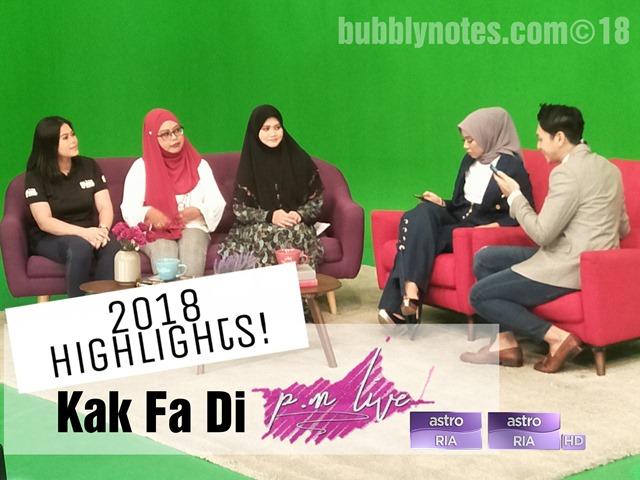 2018 Highlights! Kak Fa di p.m. live Astro Ria, Astro Ria HD