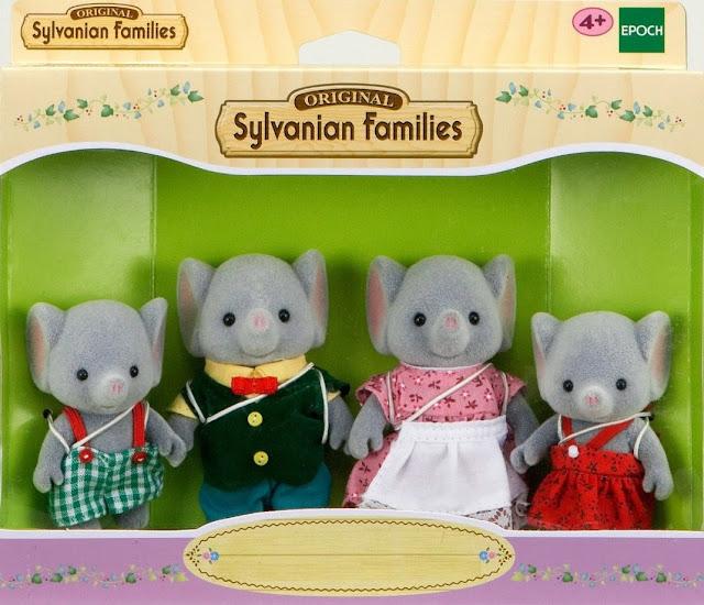 Đồ chơi gia đình nhà Voi - Elephant Family là món quà dành cho các bé gái
