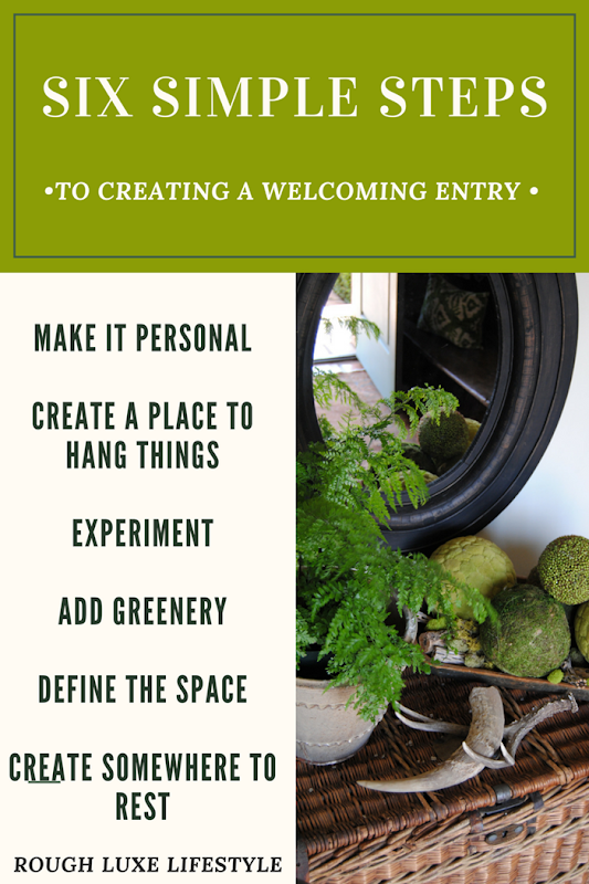 six simple steps to creating a welcoming entry