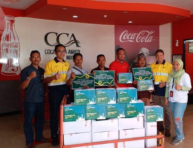 CCAI Donasi Ribuan Sembako untuk Warga