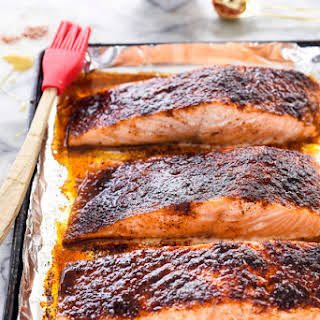 10-Minute Maple-Crusted Salmon.