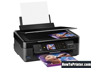 Reset Epson XP-411 Waste Ink Counter overflow error