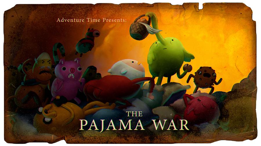 Hora de Aventura: A Guerra do Pijama