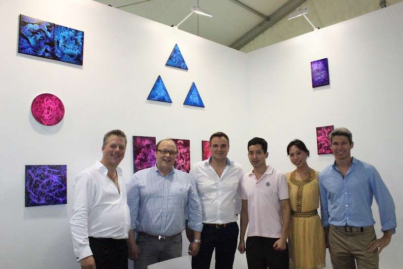 Victor Angelo Artist International Contemporary Art Fair Artbasel Hong Kong Art Basel Abhk Modern Paintings International Contemporary Art Gallery Hong Kong