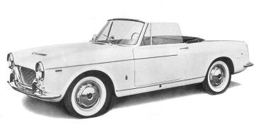 Fiat 1960 1200 cabriolet