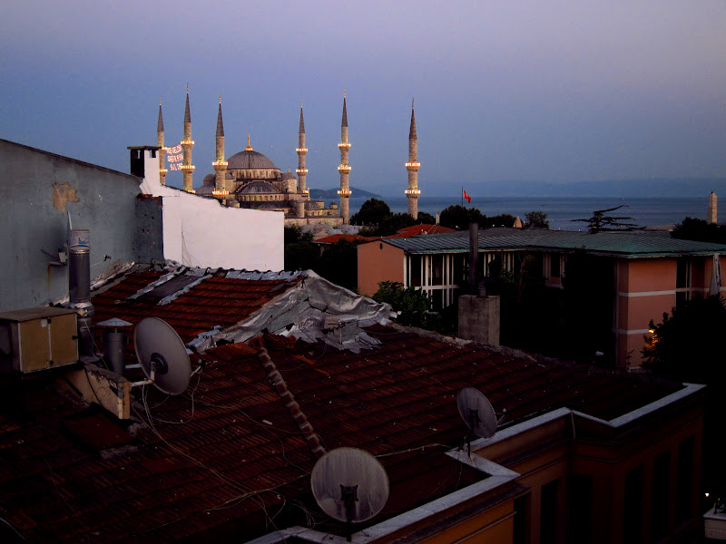 Blue Mosque from the rooftop