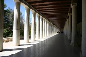 Colonnade of the Stoa of Attalos, Agora, Athens