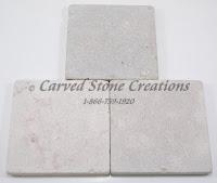 4x4 Limo Persiano Tumbled Limestone Tile