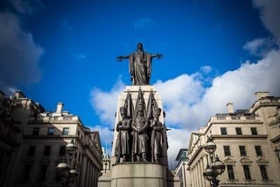 Guards Crimean War Memorial London