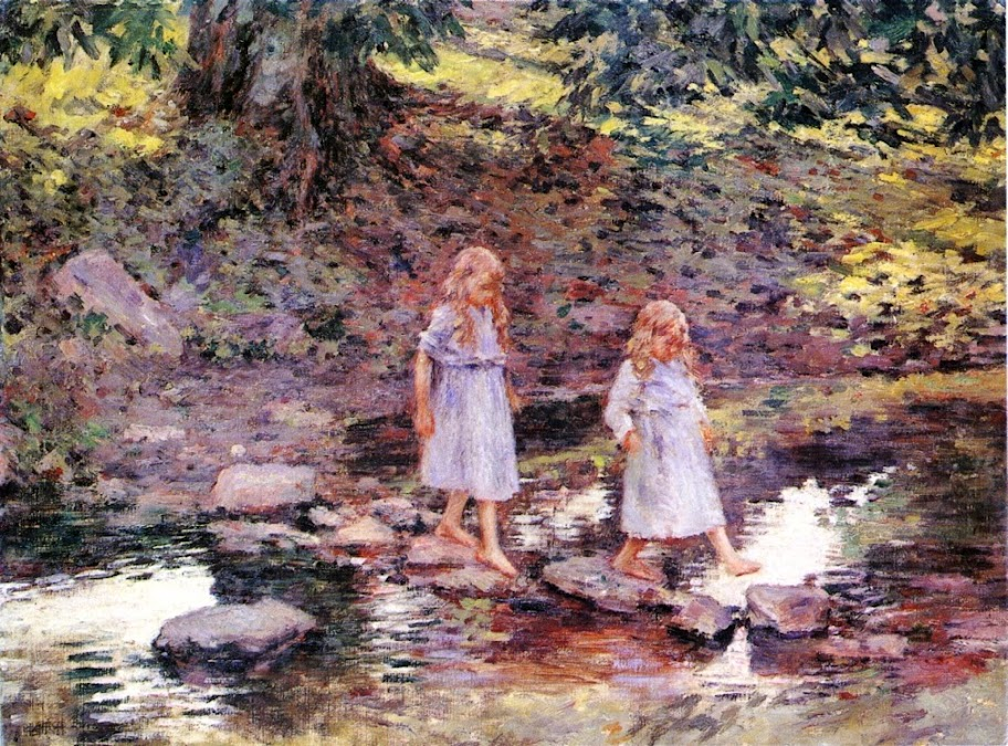 Theodore Robinson - Stepping Stones