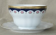 Bavarian Porcelain Mayo Bowl made by Winterling in Marktleuthen thumbnail