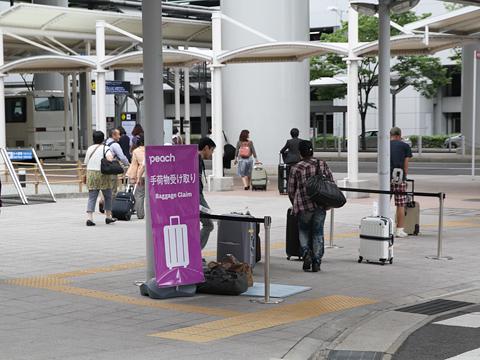peach 関西空港 手荷物受け取りスペース