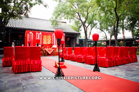 Chinese Double Happyness in Wedding