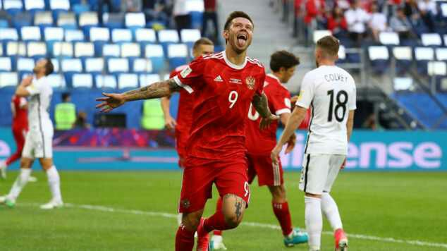 Russia 2 New Zealand 0: Hosts make confident start to Confederations Cup, See highlights