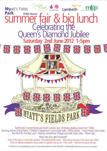 Myatts Park Jubilee summer fair in Vassall Ward