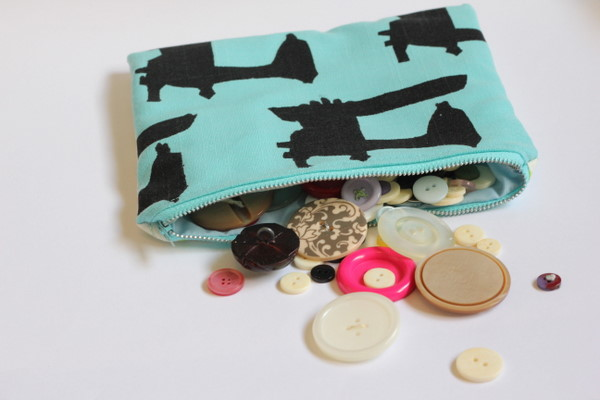 free zipper pouch tutorial