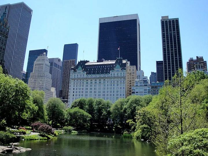 The Plaza Hotel, Central Park, NY