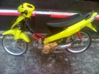 Modifikasi Mesin Suzuki Skywave
