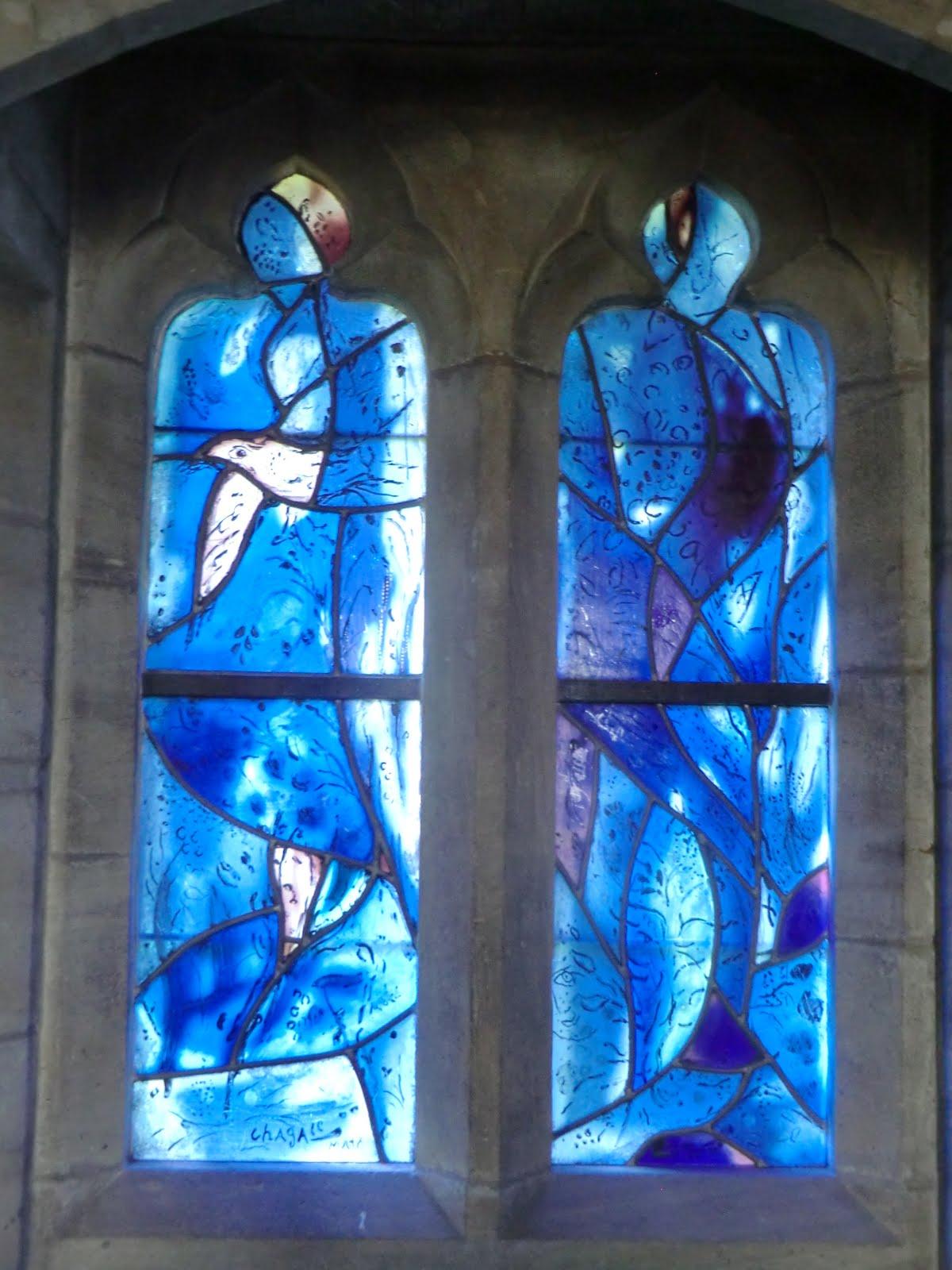 CIMG1562 Chagall window #4, All Saints church