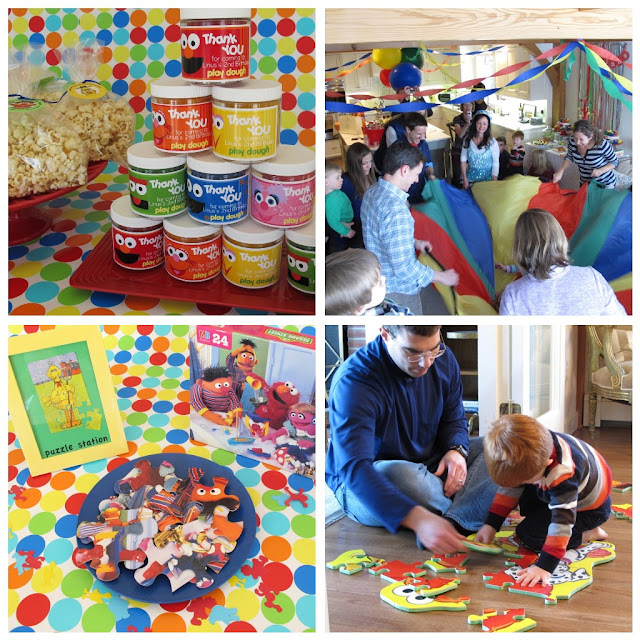 Here are the rest of the pictures from our Sesame Street Party!