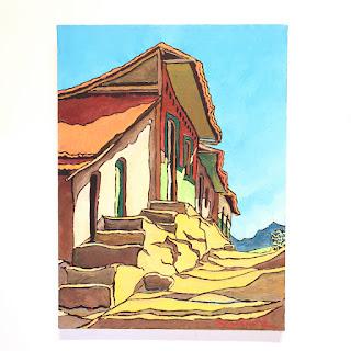 Alfonso Ximénez Signed Painting
