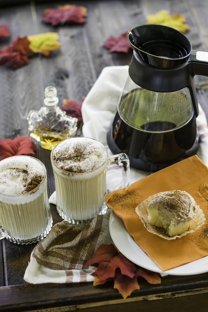 Maple Cinnamon Vanilla Cupcake Latte Macchiato Recipe