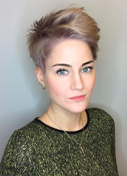 Classy and Simple Short Hairstyles for Women - Fashionre
