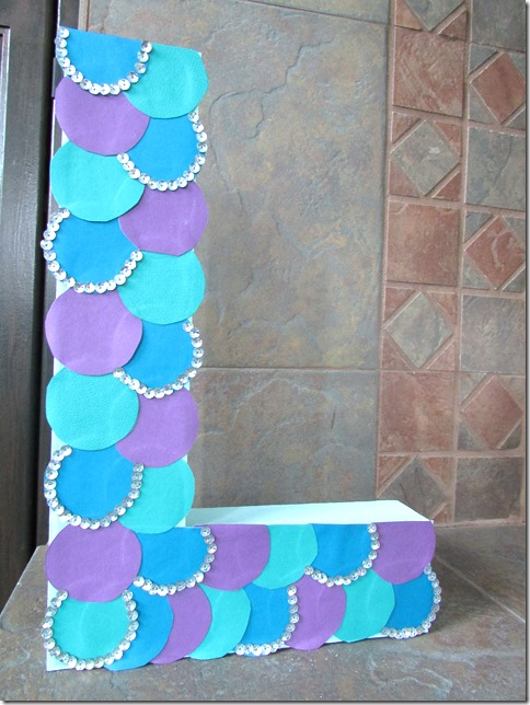 diy mermaid party decorations