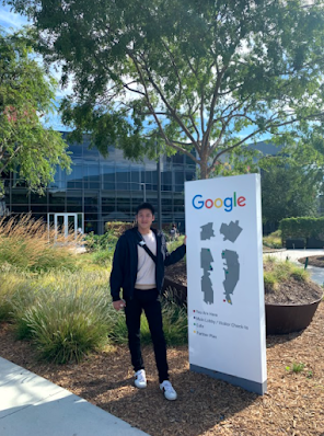 Alaric Moses Ong at Google's Headquarters