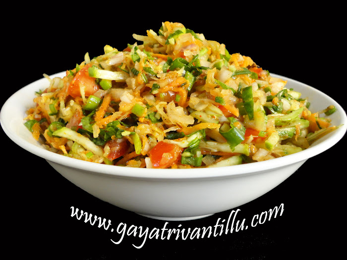 Salads nature health andhra telugu recipes indian vegetarian enjoy to cook serve eat fresh limited exercise regularly stay fit healthy forumfinder