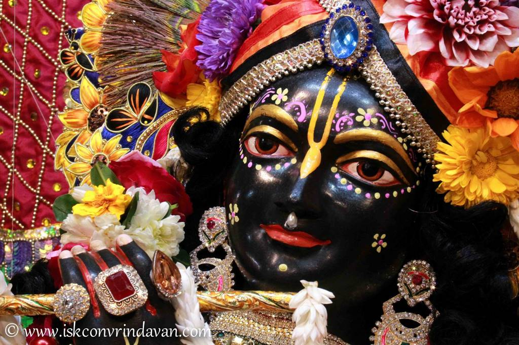 ISKCON Vrindavan Sringar Deity Darshan 01 Mar 2016 (12)