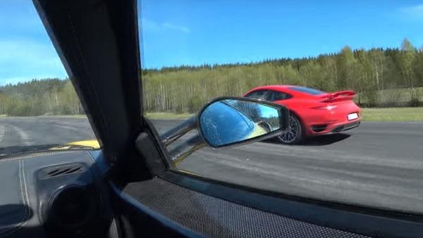 Ferrari 430 Scuderia Vs Porsche 911 Turbo S