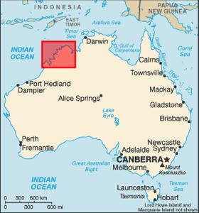 Location kimberley