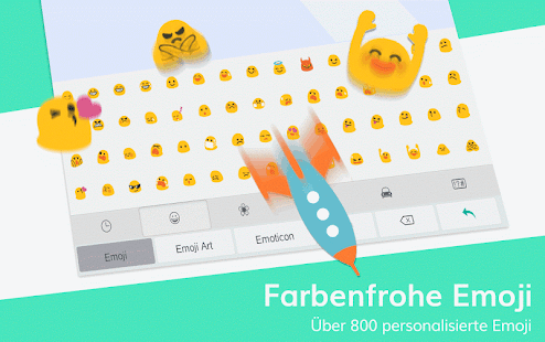 TouchPal Emoji Tastatur - Emoji, sticker & Themen Screenshot
