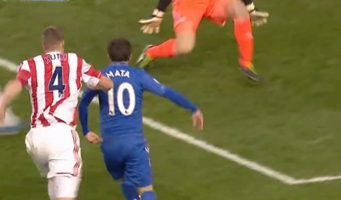 Mata, Stoke City - Chelsea