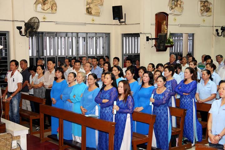 Lễ Mai Khôi - Bổn Mạng Liên Đoàn Gia Đình HHTM 2015